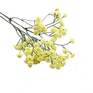 Schön Unechte Blumen, Sonnena 65cm Gefälschte Blumen Seide Kunstblume Bridal Bouquet Hochzeit Blumenstrauß Party Garten Blumen-Bouquet Hortensie Dekoration Wohnaccessoires (Gelb)