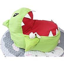 Youngshion - Puf con forma de animal en 3D, acolchado, para niños, para