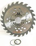 115mm und 125mm Qualität Holz Trennscheiben für Winkelschleifer 11,4cm & 12,7cm TCT Sägeblatt Schnell Schnitt 244060TCT