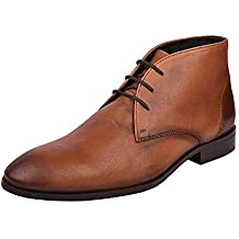 one8 Select by Virat Kohli Men's Genuine Leather Chukka Boots