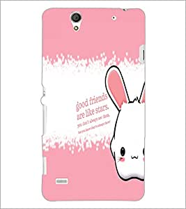 PrintDhaba Quote D-5790 Back Case Cover for SONY XPERIA C4 (Multi-Coloured)