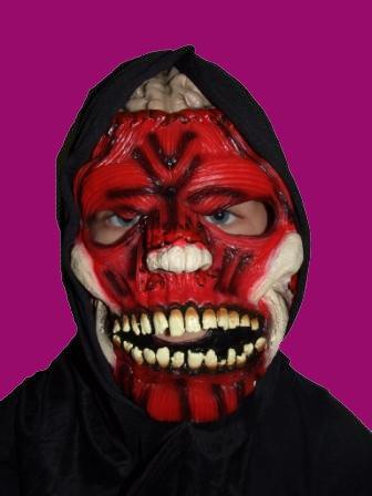 Gesicht Halloweenmaske ()