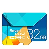 Memory Card, Flash Card TF Microsdhc Scheda di Memoria da 128 GB 64GB 32GB 16GB 80Mb / S Class10 U3 U1 SDXC Grade Evo + Micro SD Memory Card,32GB