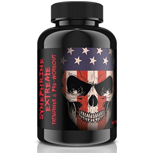 *Synephrine-Extreme, Fatburner und Pre-Workout Booster, 360 vegane Tabletten á 5mg Synephrin, hergestellt in Deutschland*