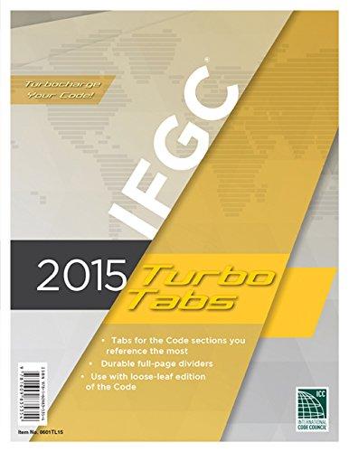 2015 International Fuel Gas Code Turbo Tabs for Loose Leaf