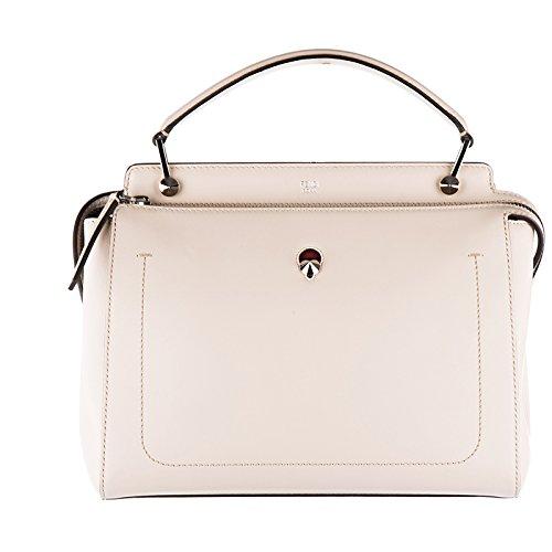Fendi Leder Handtasche Damen Tasche Bag dot com Kalbsleder rosa