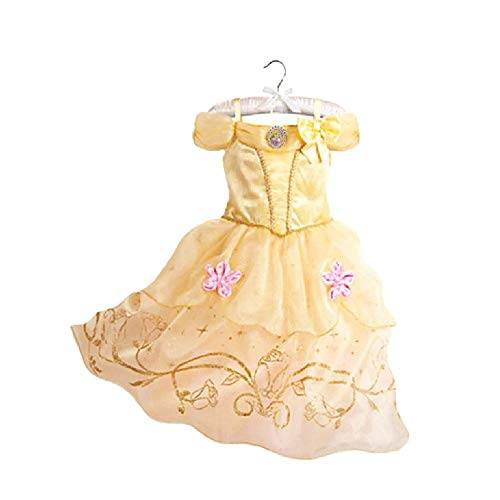 Kleid Banana Kostüm - Ana Banana Paris Mädchen Kleid Gr. 4 Jahre, Raiponce 2