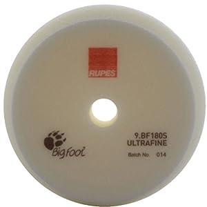 RUPES éponge de polissage ultrafine (Blanc) 150/180 mm, 16pcs
