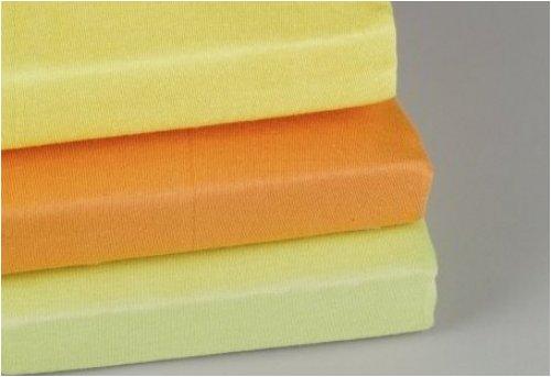 ALVI Spannlaken Trikot gelb 70x140 -