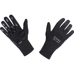 GORE BIKE Wear Guantes de Hombre para ciclismo, GORE Selected Fabrics, UNIVERSAL Gloves, Talla 8, Negro, GUNIVU990006