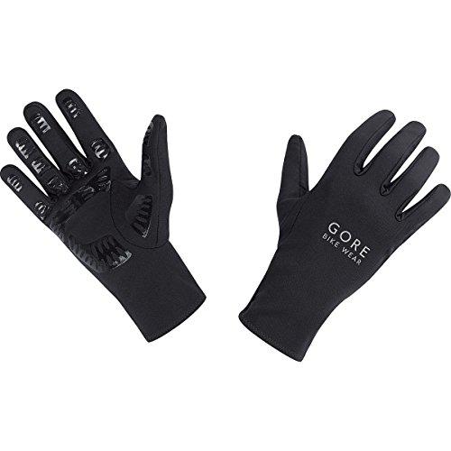 GORE BIKE Wear Herren Fahrrad-Handschuhe, GORE Selected Fabrics, UNIVERSAL Gloves, Größe 8, Schwarz, GUNIVU