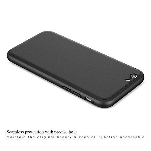 custodia iphone 6 360 gradi nera