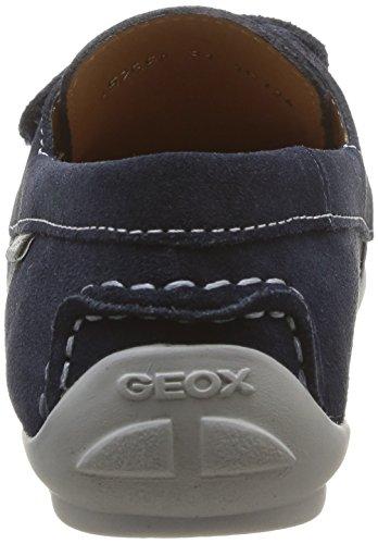 Geox J Fast A, Mocassins garçon Bleu (Navy)