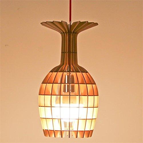Legno, gioielli creativi Air Charm lampada pilota calice casa paralume shell camera ornamenti, la forma (Viola Ornamento Di Vetro)
