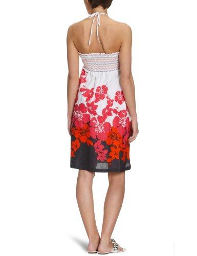 Roxy robe imprimée miss california Rouge - Corinne MIS red