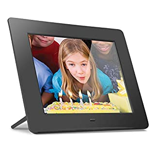 Aluratek 8 inch 800 x 600 Digital Photo Frame with 512MB Memory