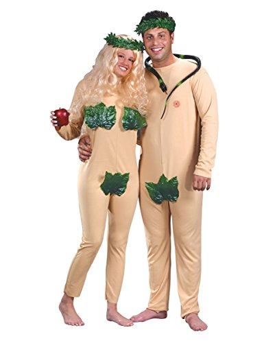 Partner Kostüm Adam & Eva aus dem Garten Eden One (Von Eva Garten Kostüm)