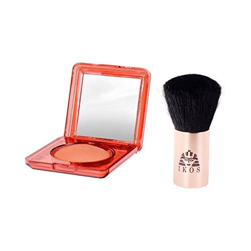 Ikos Kit de terre égyptienne 7 g + pinceau d'application pour un maquillage naturel