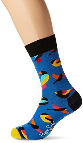 Happy Socks Herren Bird Socken, Blau (Navy 6000), One Size (Herstellergröße: 41-46)