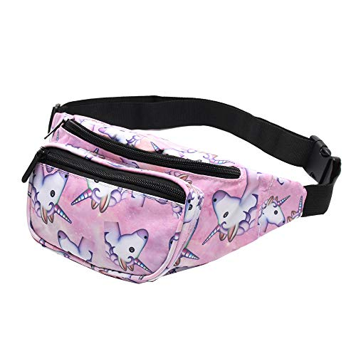 Giddah waistbags Mujeres Unicornio & Flamingo Mode
