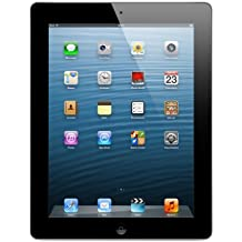 Apple iPad 4 (16 GB, Wi-Fi, A6X, Tablet 24,6 cm (9,7''), 2048 x 1536 Píxeles) Color Negro
