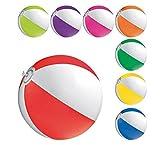 STOCK 30 PEZZI Palla Pallone da mare spiaggia gonfiabile bianco colorato da 20 25 cm