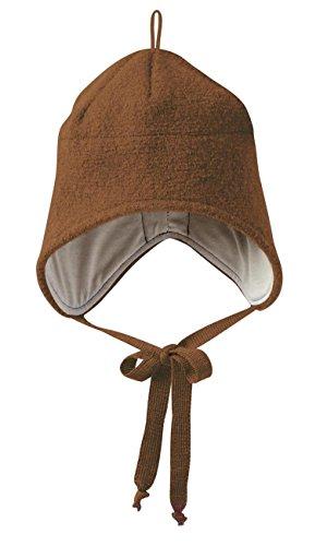 Disana Walk-Mütze 100% bio-Schurwolle/ Futter 100% bio-Baumwolle haselnuß (01 (42 - 46 cm), haselnuß) - 1 Haselnuss