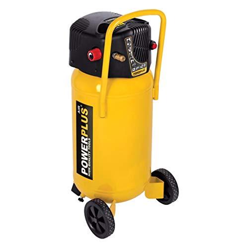 POWERPLUS POWX1750 - Compresor 1500w 50l sin aceite