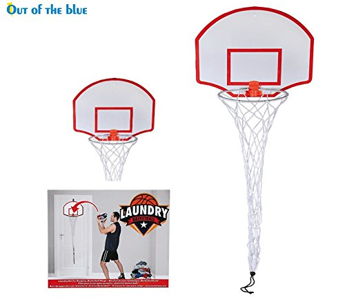 Preisvergleich Produktbild Basketballkorb Wäschekorb Net Kunststoff zum Aufhängen Kleidung Garment Aufbewahrungskorb Bin
