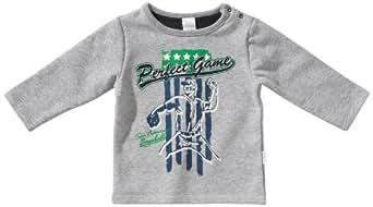 Stummer Baby - Jungen Sweatshirt 21443, Gr. 92, Grau (217 light grey melange)