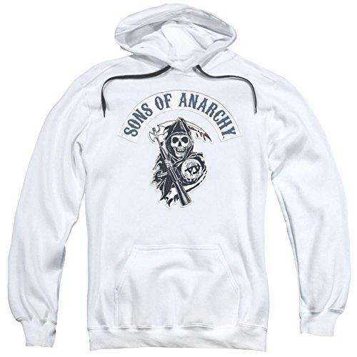 Sons of Anarchy Crime Drama Series Reaper Logo Bloody Sickle Erwachsene Hoodie