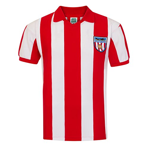 27a8007007d2 Sunderland AFC Official Football Gift Mens 1978 Retro Home Kit Shirt Large