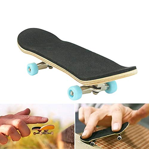 Bulary in Legno Mini Fingerboard Professionali Set Ramp Parts per Finger Skateboard Finger Skateboard Skate Park Kit Ultimate Parks Puntelli per Allenamento