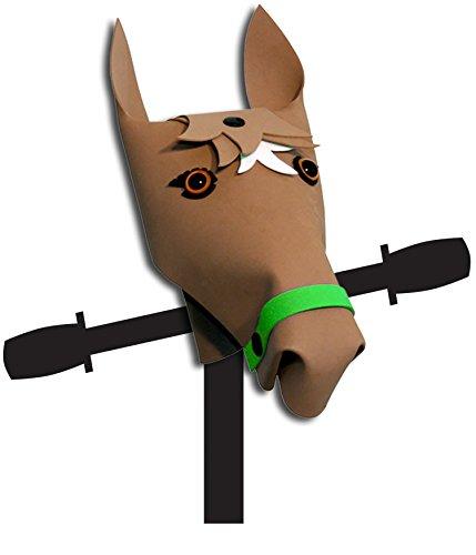Kiddimoto Kinder HBH01FD Lenkeraufsatz Pony Braun Für Scooter, Lauflernräder Und Kinderfahrräder Horse Brown One Size