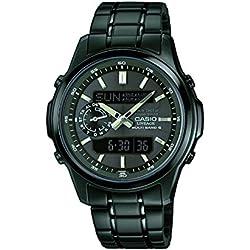 Casio LCW-M300DB-1AER - Reloj de pulsera hombre, Acero inoxidable, color Negro