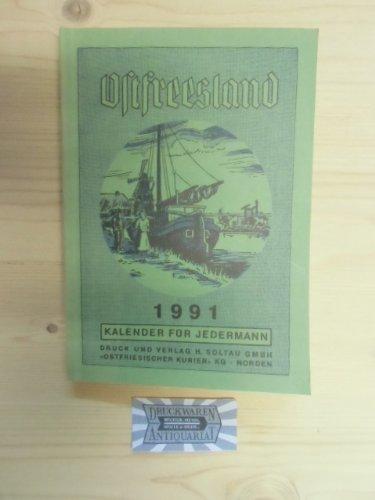 Ostfriesland 1991. Kalender für Jedermann.