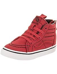 0e8ee7a6a556 Vans Toddlers Sk8-Hi Zip (Contrast Stitch) Skate Shoe