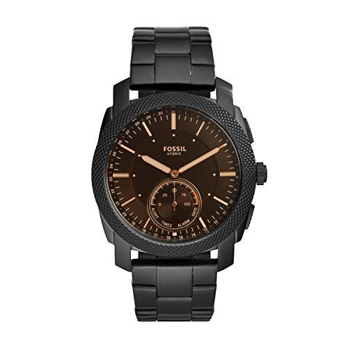 Fossil Herren Analog Digital Uhr mit Edelstahl Armband FTW1165 (Herren Fossil Uhr Digital)