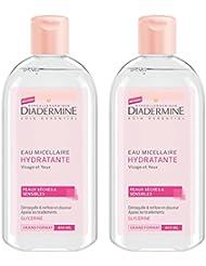 Diadermine Hydratant Eau Micellaire 400 ml - Lot de 2