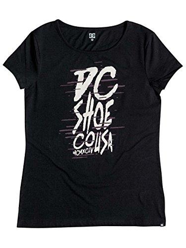 DC Shoes Wild Flow - T-Shirt - Tee-Shirt - Femme - M - Noir