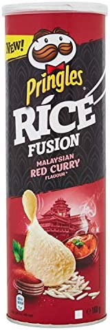 Pringles Rice Malaysian Red Curry, 160g