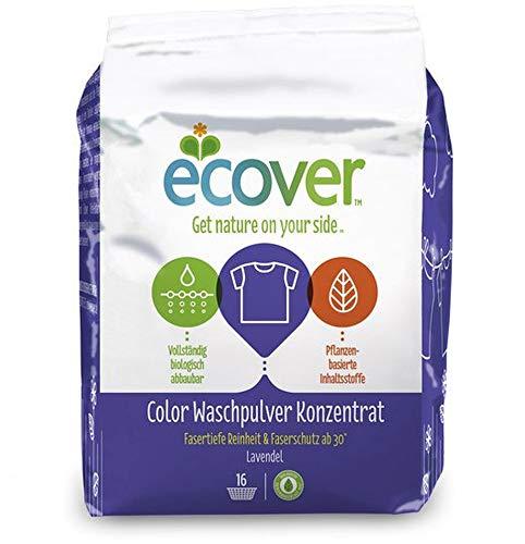 Ecover Color Waschpulver Konzentrat Lavendel, 1,2kg