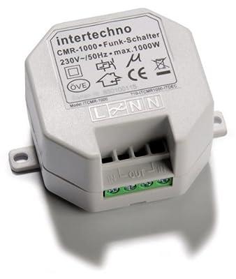 Intertechno Funk Einbauschalter CMR-1000 von Intertechno bei Lampenhans.de