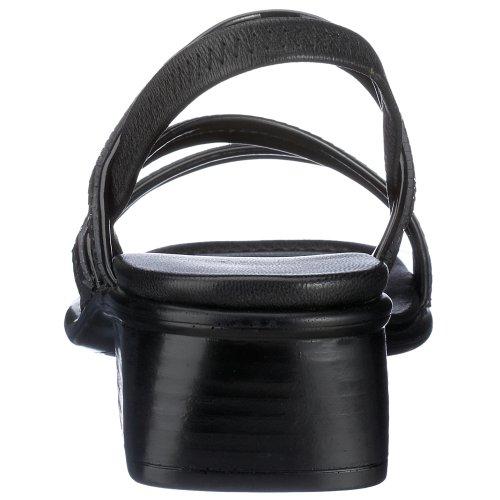Rieker 60654-00, Sandales Bride Arriere Femme Noir (00 Black)