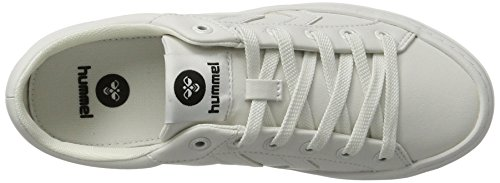 Hummel DEUCE COURT TONAL, Sneakers basses mixte adulte Blanc (White)