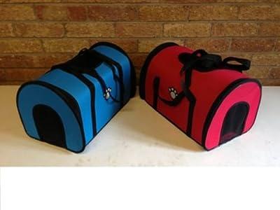 New PET CARRY BAG Dog Cat Pet Carrier Soft Cosy Travel Carry Bag top panel