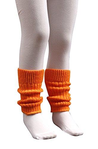 socken-und-mehr Kleinkinder Stulpen 20 cm lang in orange