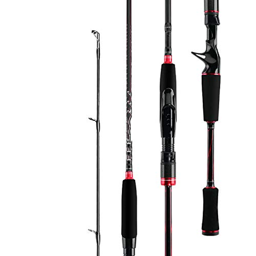 Love every day Original Black Max Bmax Baitcasting Köder Angel 1.98M 2.13m 2,44 Ml M Mh Power Carbon Spinning Angelruten, 2,13 Spinning S702Mh (Fishing Rod Stick-ice Ugly)