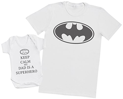 Zarlivia Clothing Keep Calm My Dad Is A Hero - Regalo para Padres y be