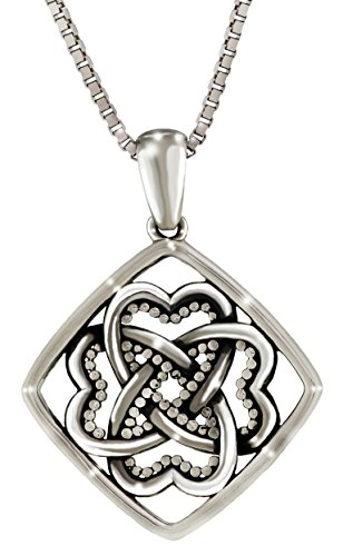 delageo-amor-es-infinito-collar-colgante-nudo-celta-oxidada-plata-de-ley-925-